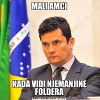 MALI AMCIKADA VIDI NJEMANJINE FOLDERA