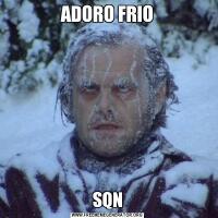 ADORO FRIOSQN