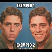 EXEMPLO 1EXEMPLO 2