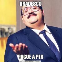 BRADESCOPAGUE A PLR