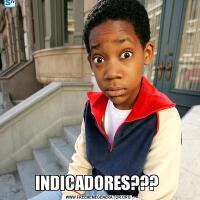 INDICADORES???