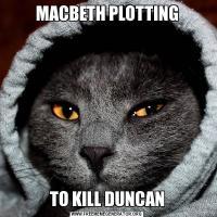 MACBETH PLOTTINGTO KILL DUNCAN