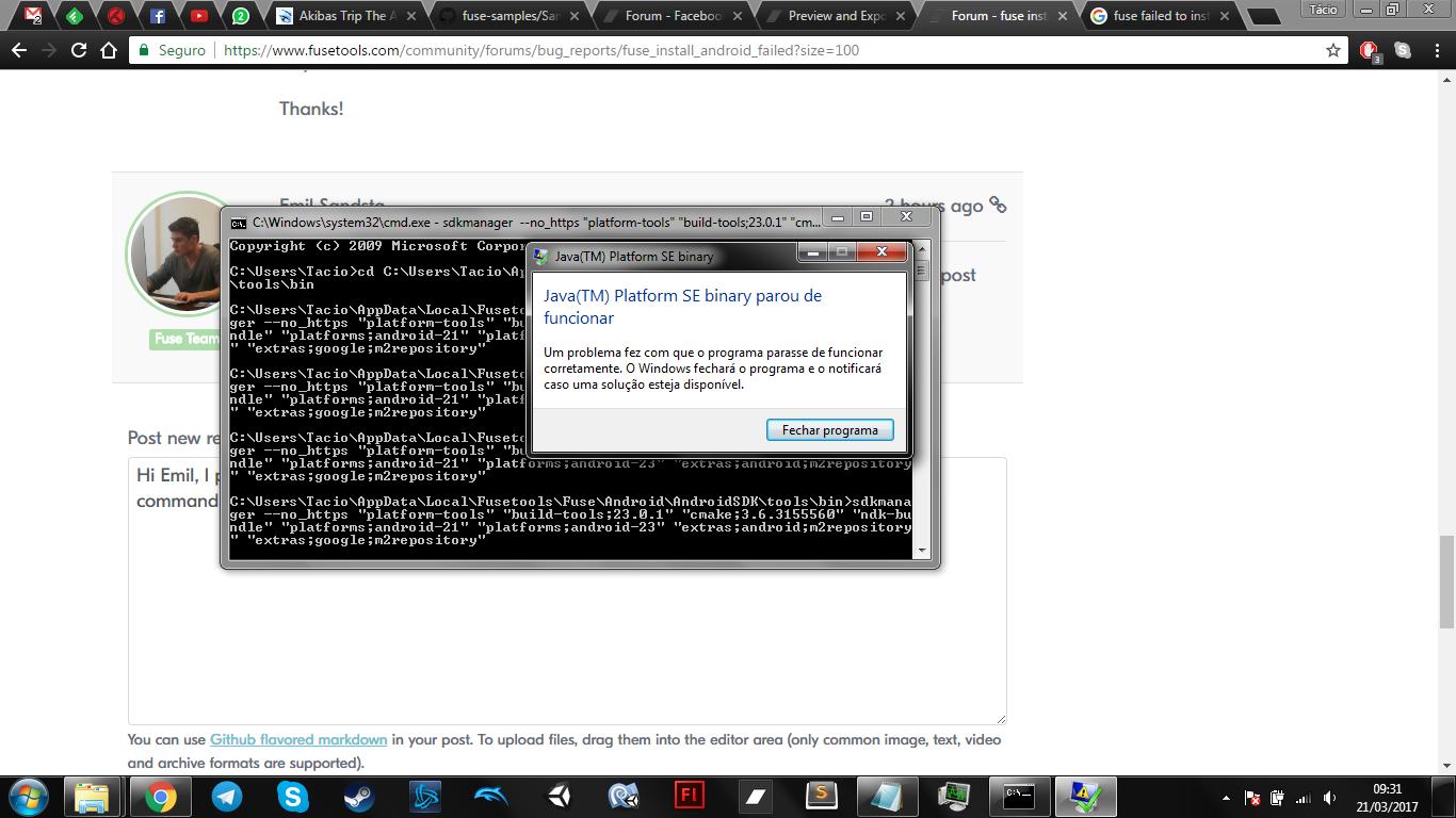 Install Adobe Fuse