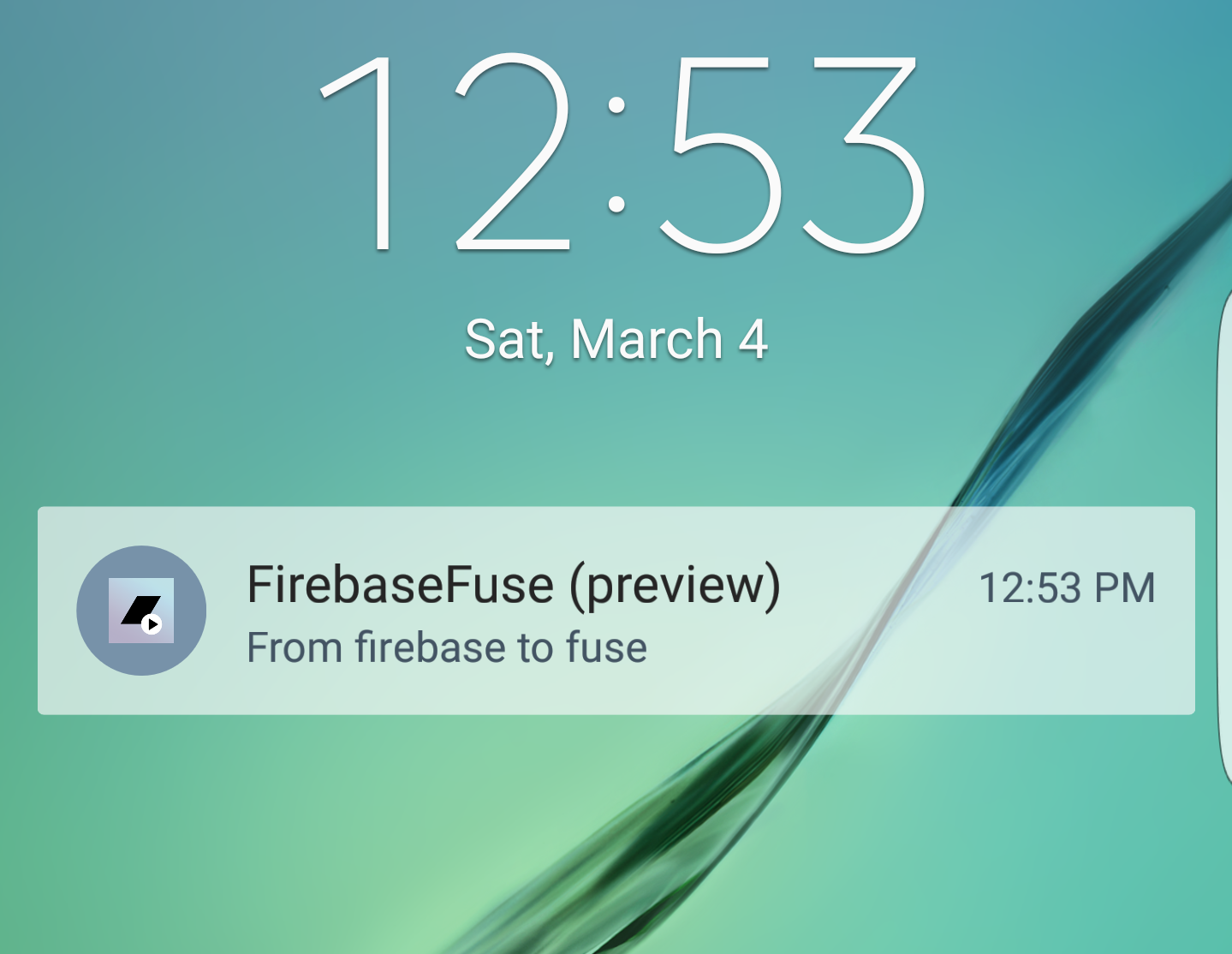 Push Notificacions with Google Firebase Notifications - How