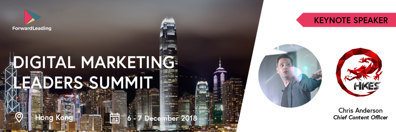 Digital Marketing Leaders Summit Hong Kong 2018