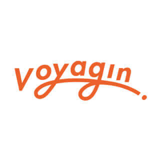 The speaker works for Voyagin