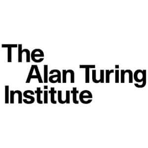 The speaker works for The Alan Turing Institute