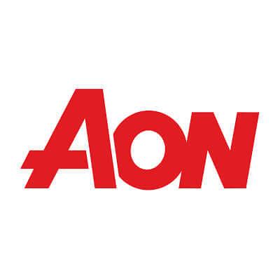 The speaker works for Aon