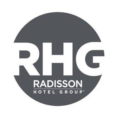 The speaker works for Radisson Hotel Group