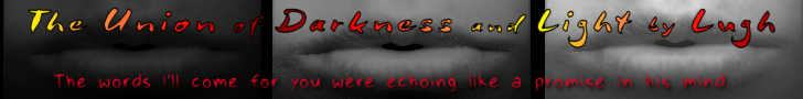 The Union of Darkness and Light banner with 3 sets of lips in shades of light to dark with quote from story
