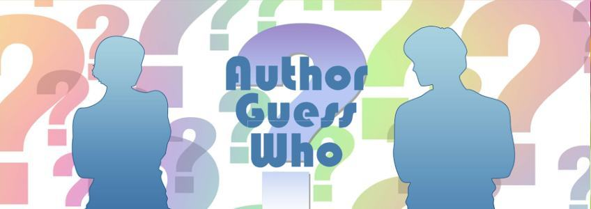 Author Guess Who #8 - The Reveal