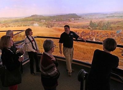 Illuminated - A lights up look at the Gettysburg Cyclorama
