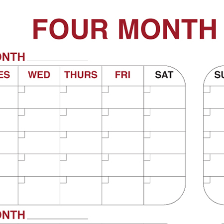 Planner - 4 Month