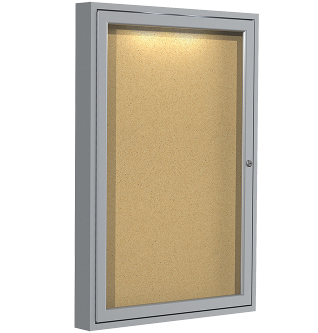 Concealed Lighting Corkboards