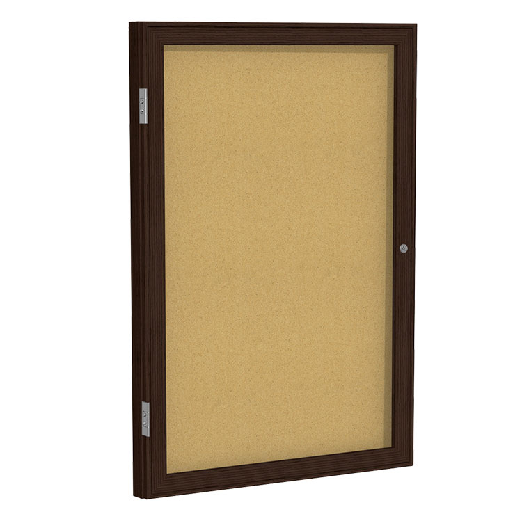 Enclosed Cork Bulletin Boards