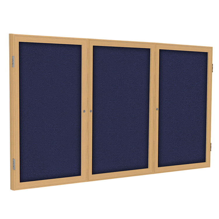 Enclosed Fabric Bulletin Boards