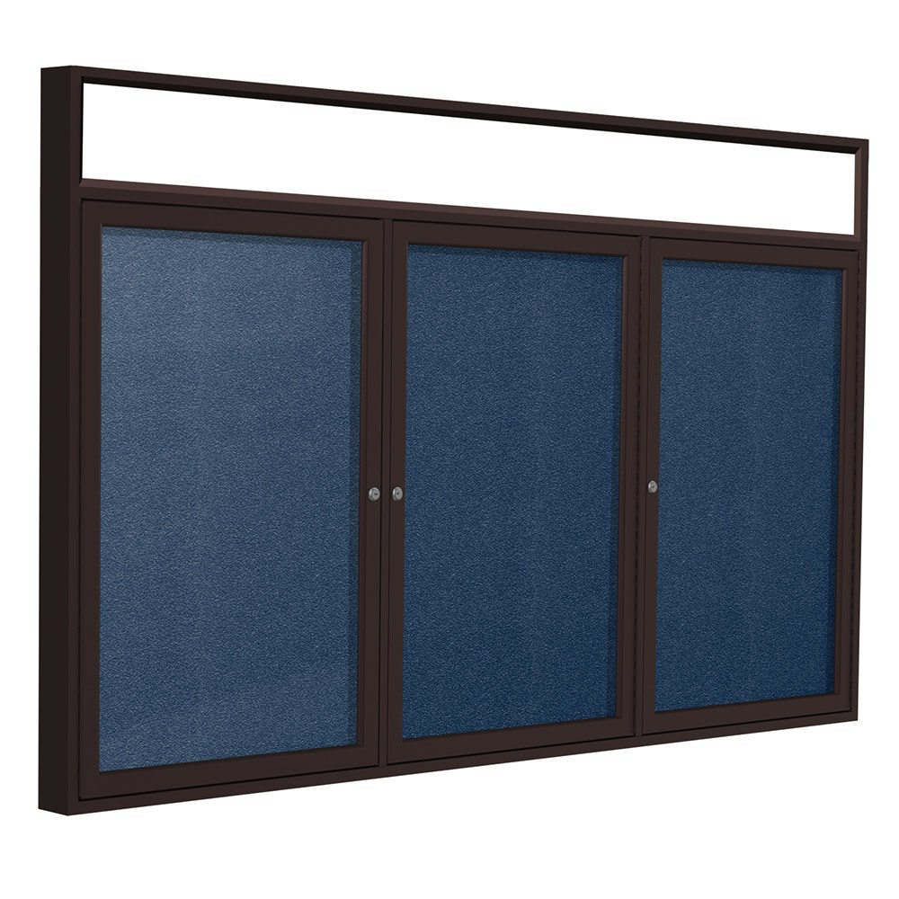 Indoor/Outdoor Enclosed Vinyl Bulletin Boards