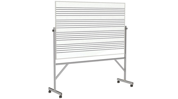Graphic Lined Reversible Whiteboards