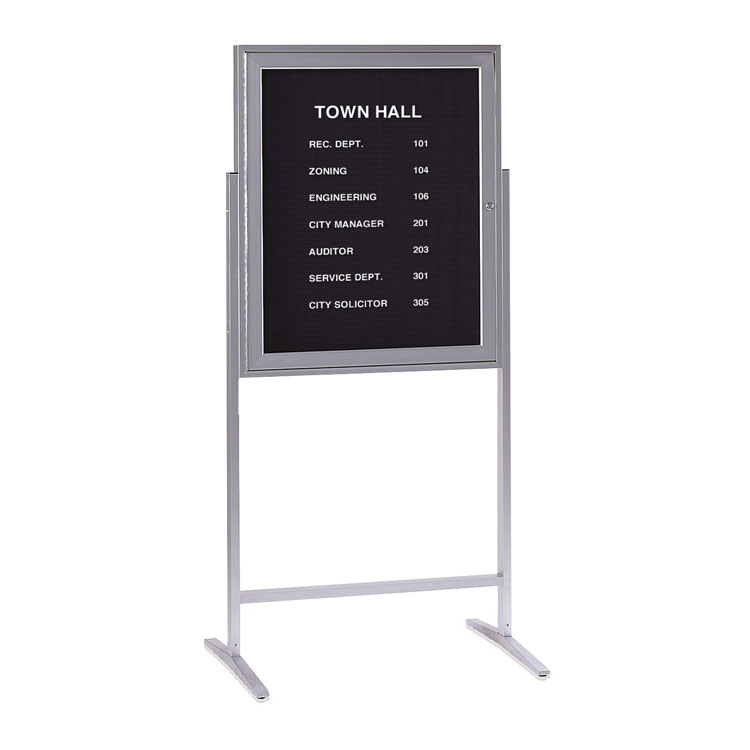 Sentry Freestanding Letterboards