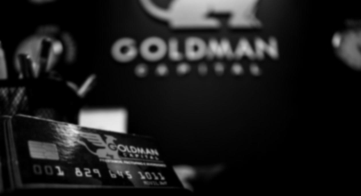 Goldman Capital - Bienvenido