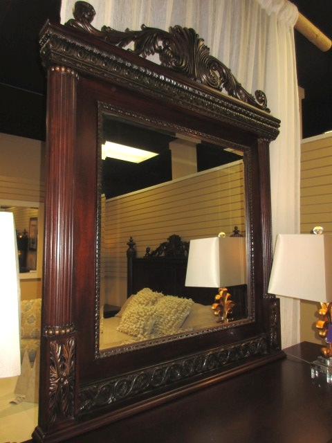 Traditional Dresser W Mirror At The Missing Piece