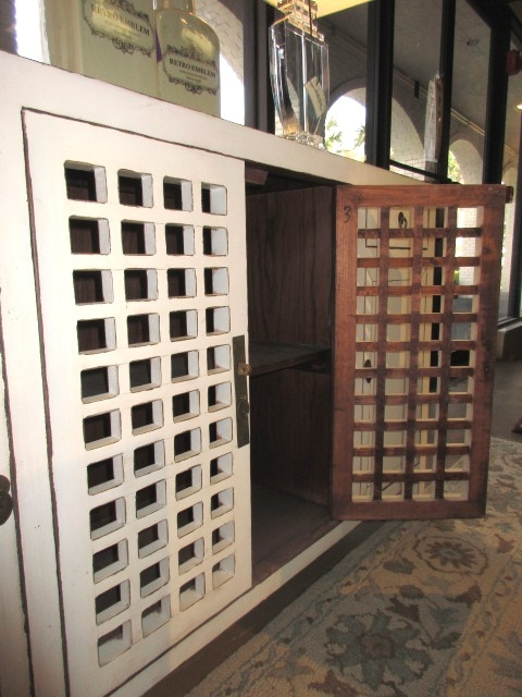 Lattice Cabinet At The Missing Piece
