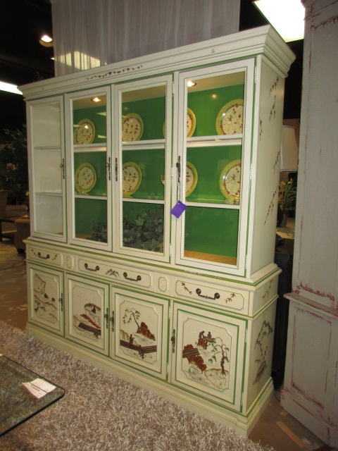 Jasper Painted Cabinet At The Missing Piece