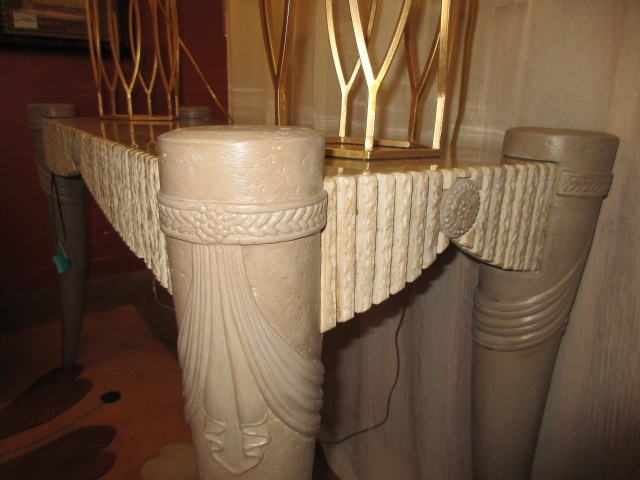 Annabelle S Stone Top Sofa Table At The Missing Piece