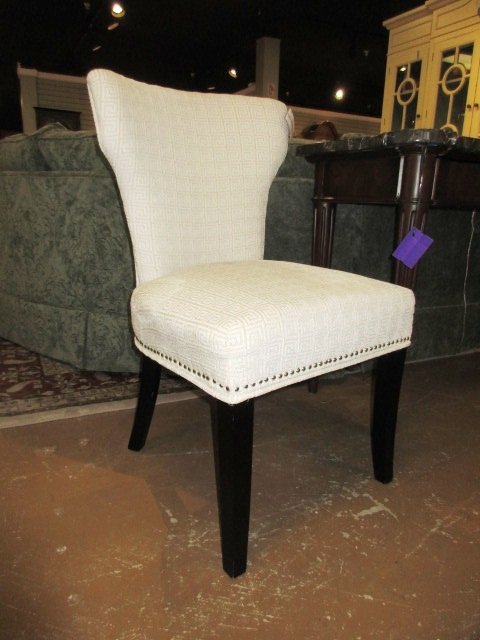 Greek Key Accent Chair At The Missing Piece