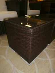 Outdoor  Cube Accent Table