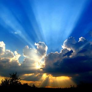 starburst sky