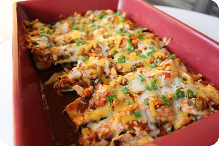 zucchini chicken enchiladas2