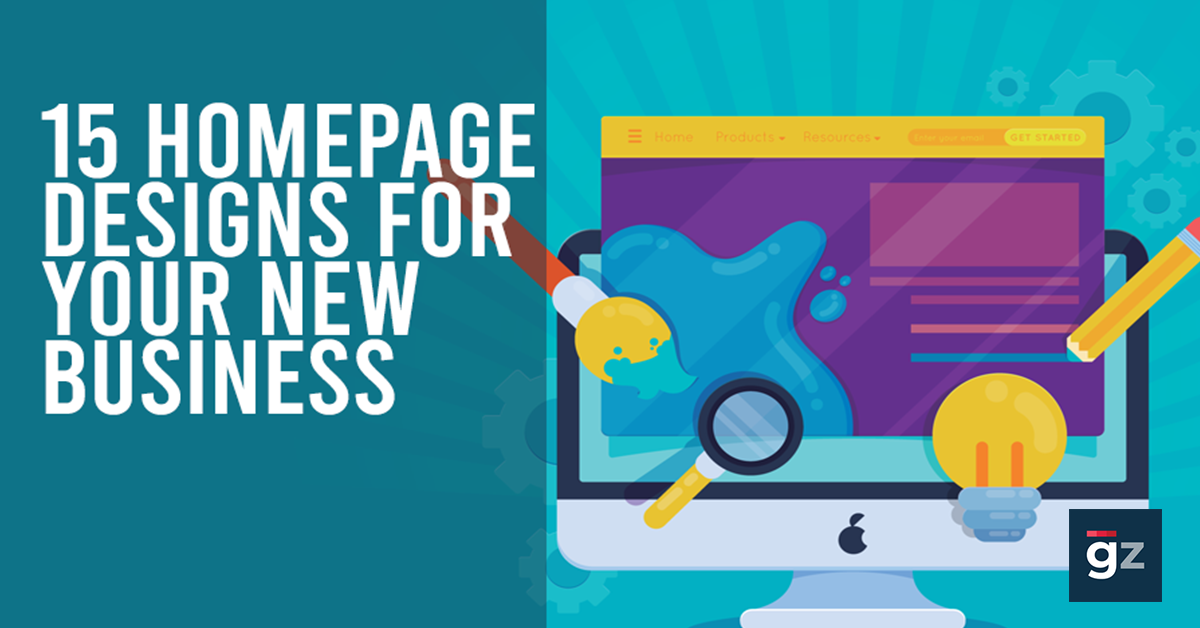 15 Homepage Designs for Your New Business