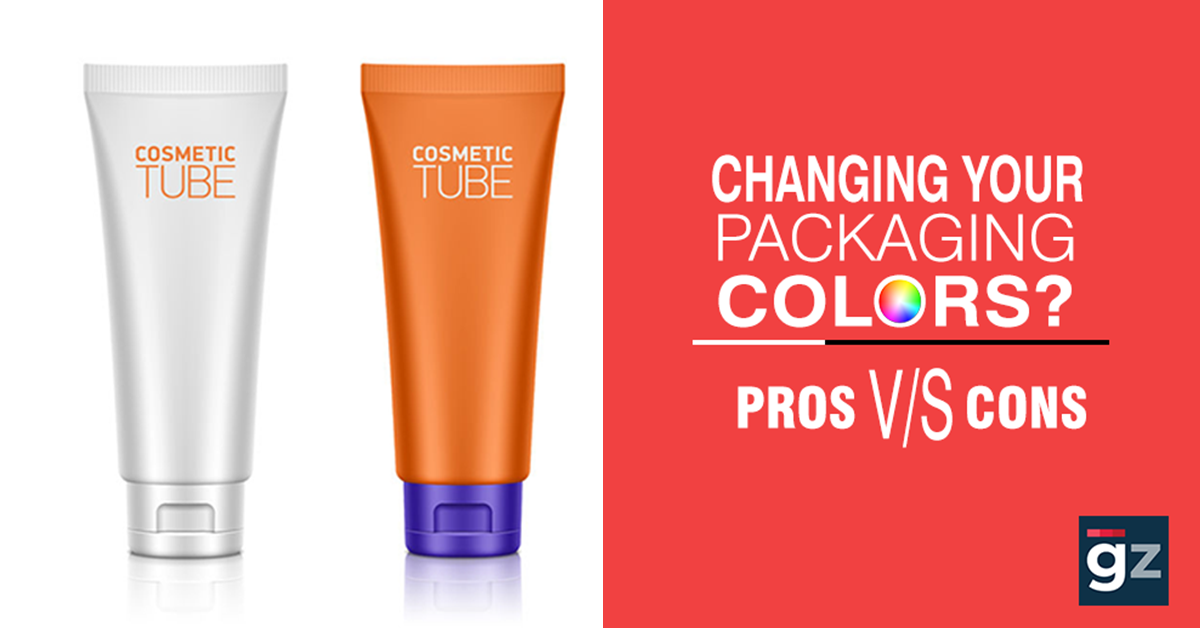 The Pros And Cons Of Changing Your Packaging Colors