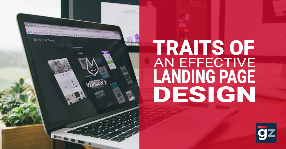 Traits of an Effective Landing Page Design