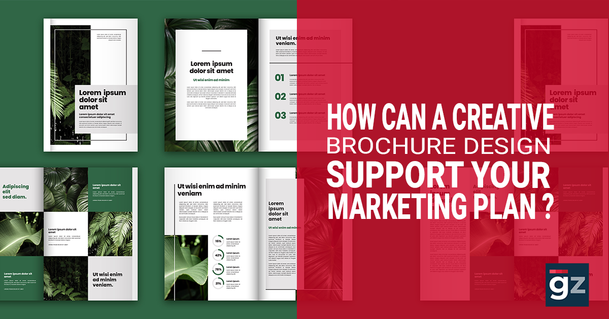 How Can a Creative Brochure Design Support Your Marketing Plan?