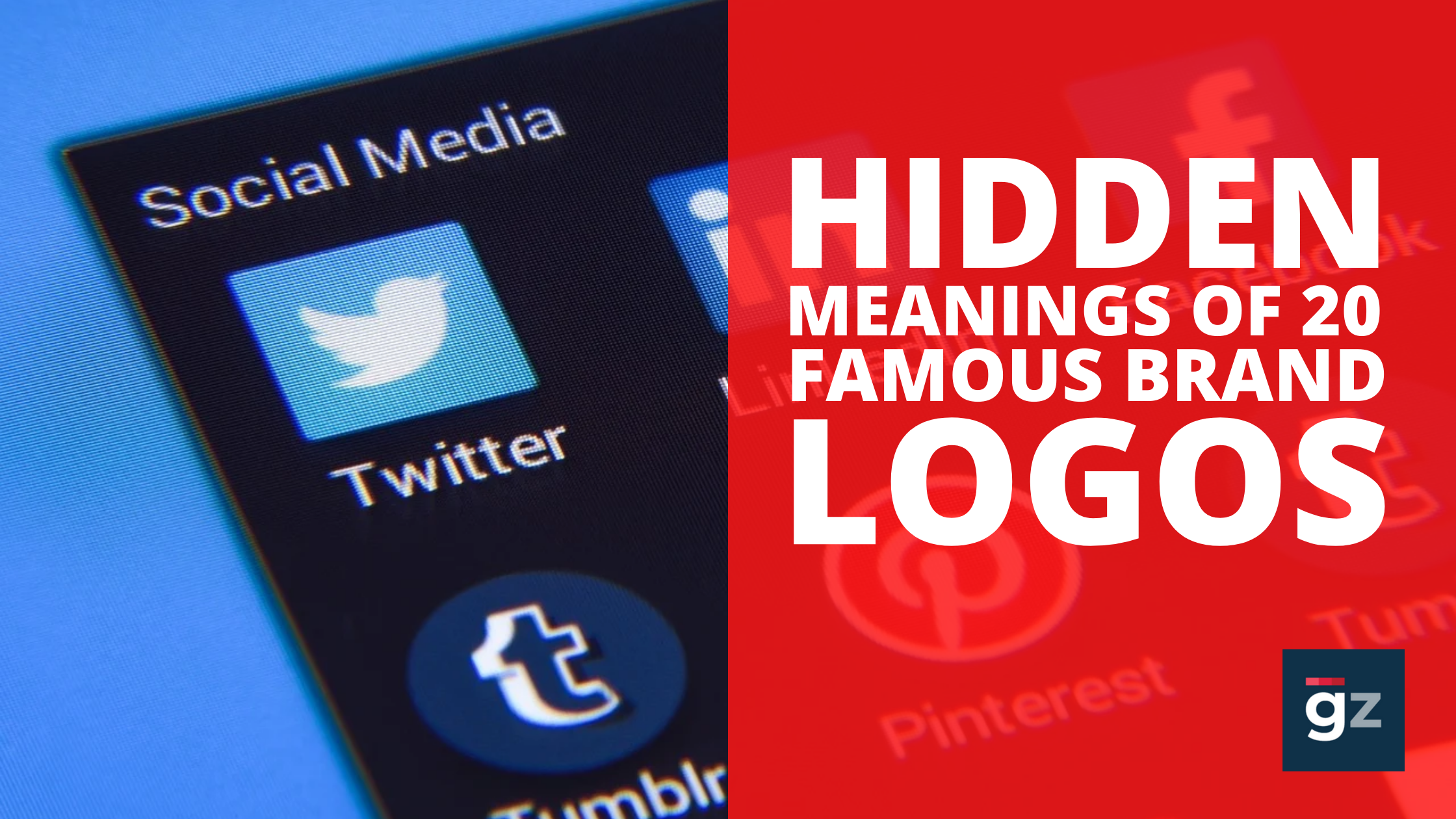 Hidden Meanings Of 20 Famous Brand Logos