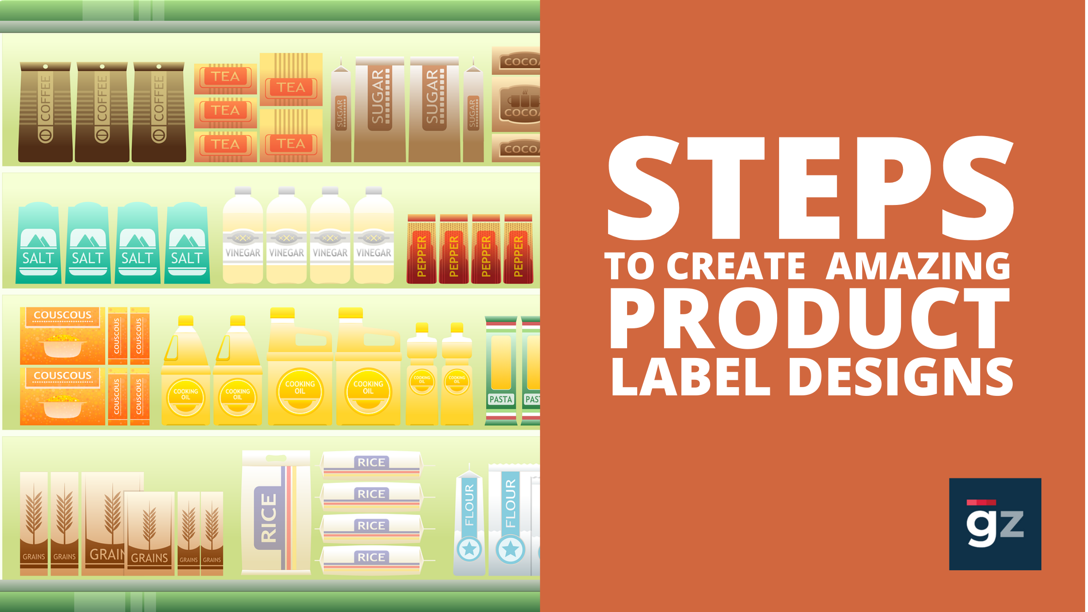 5 Simple Steps to Create Amazing Product Label Designs