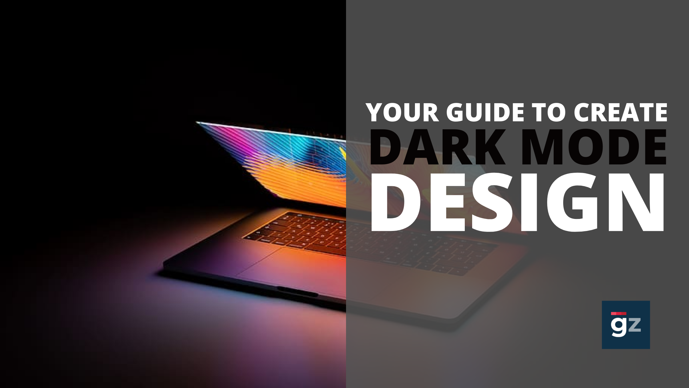 Your Guide For Creating Dark Theme Websites And Apps | Dark Mode Des...