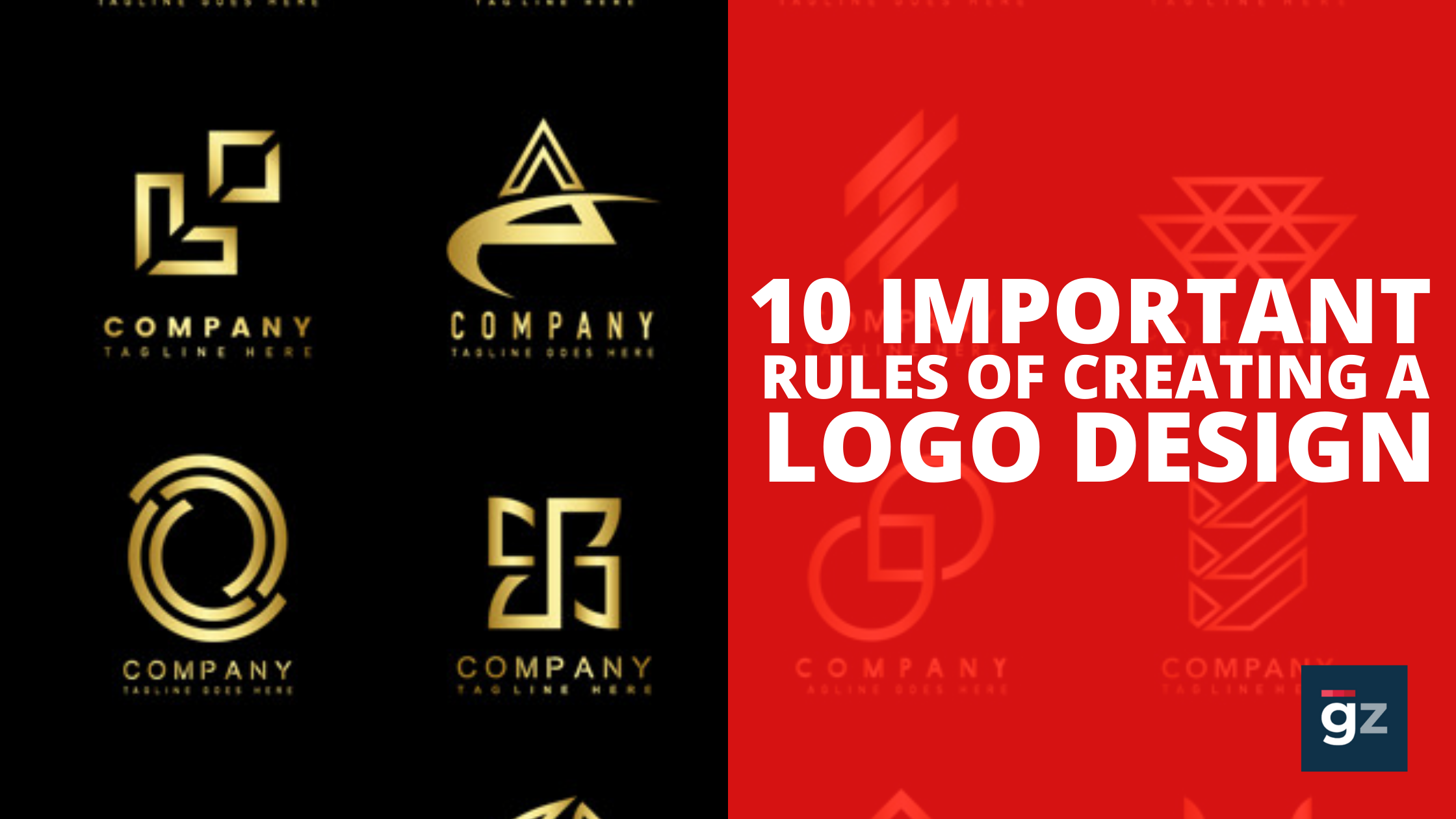 10 Important Rules of Creating a Logo Design