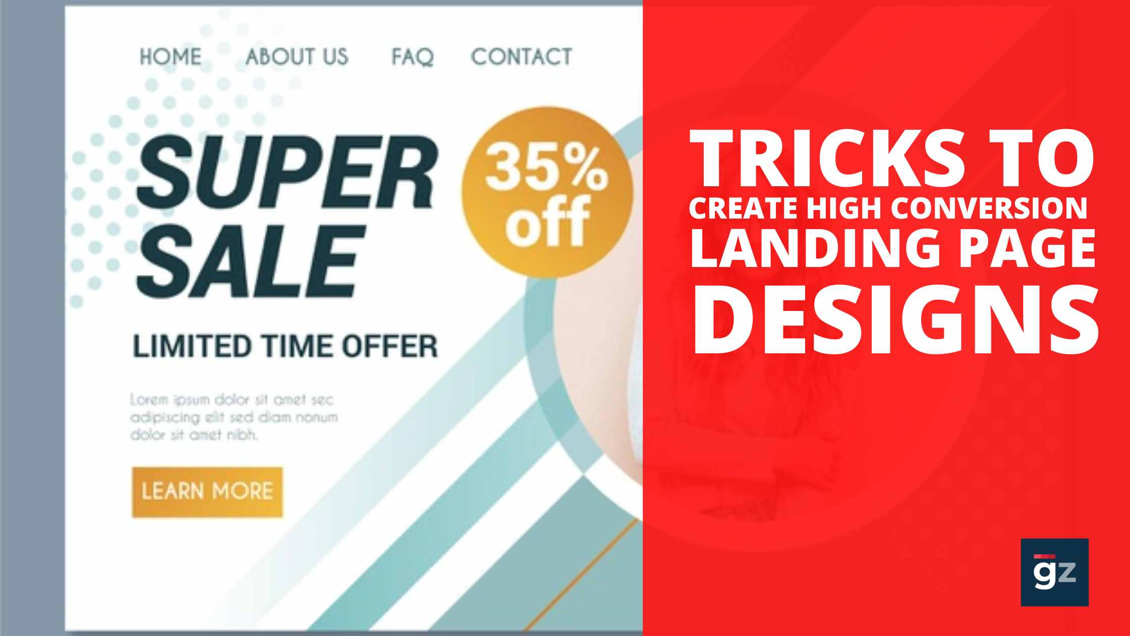 Tricks to Create High Conversion Landing Page Designs