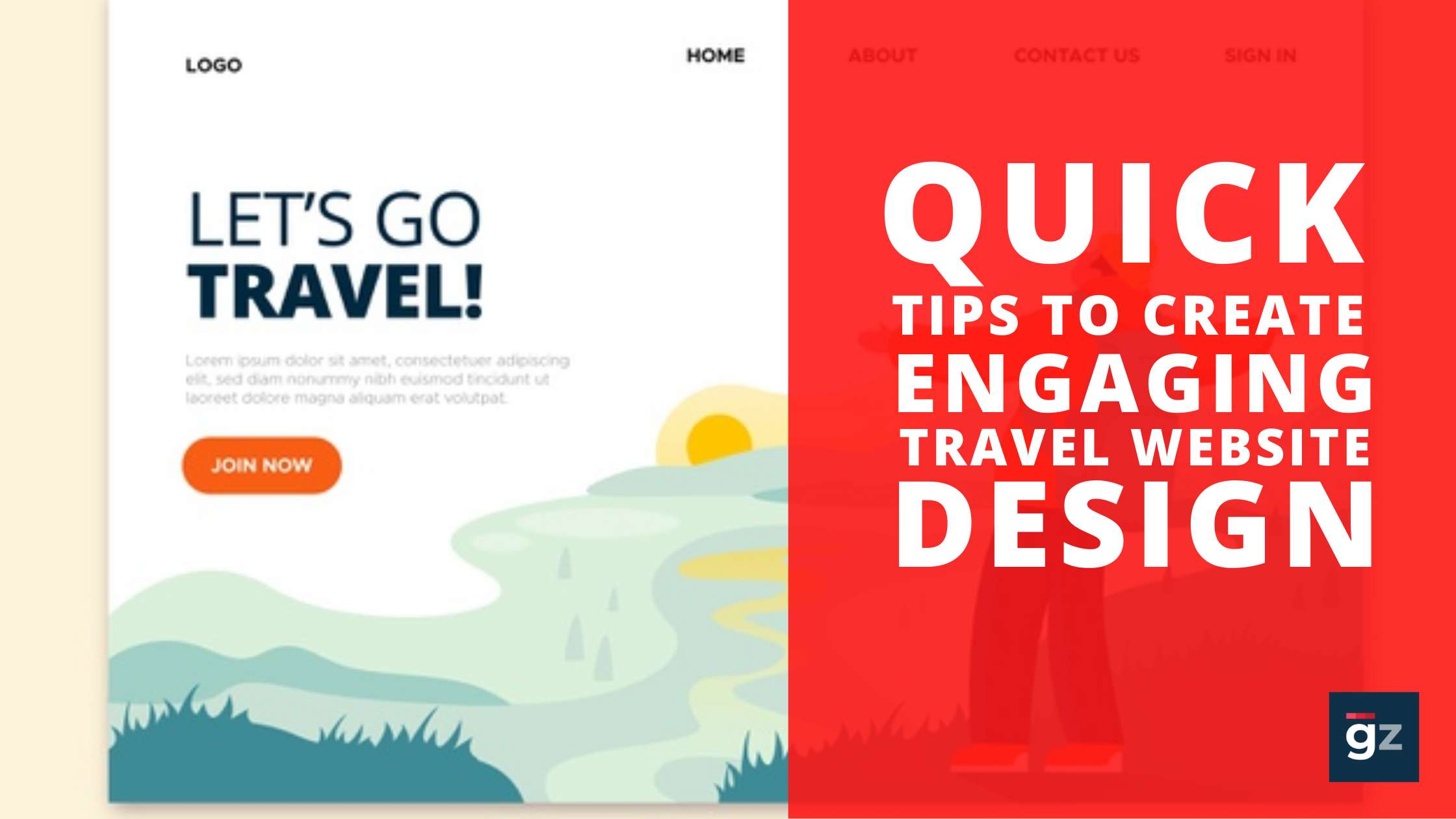Quick Tips To Create Engaging Travel Website Design