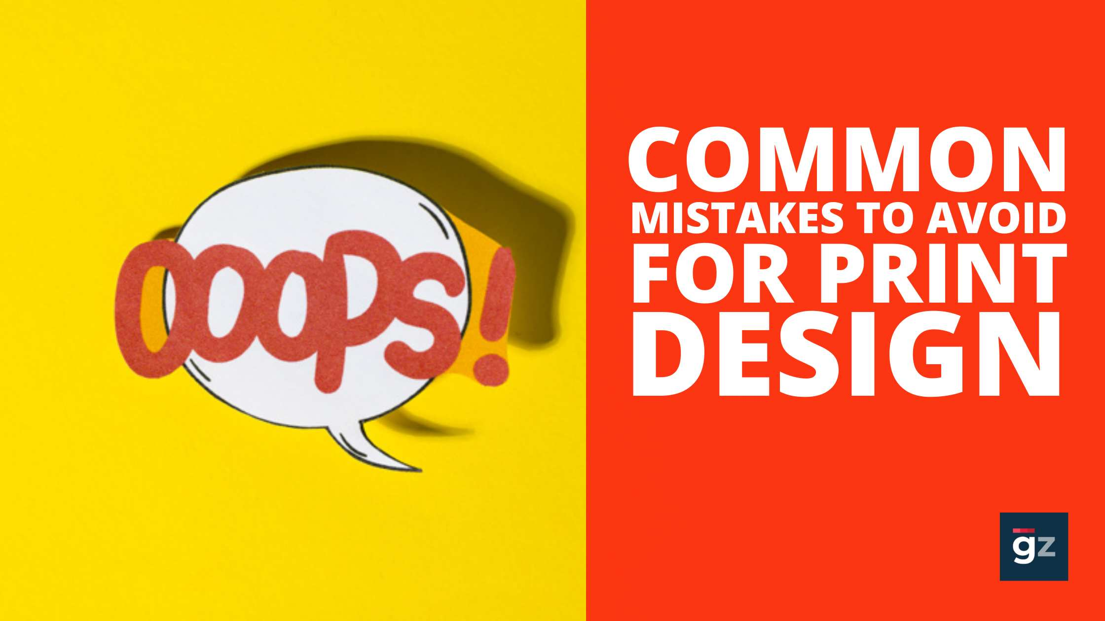 Common Print Design Mistakes to Avoid – Graphic Design Tips