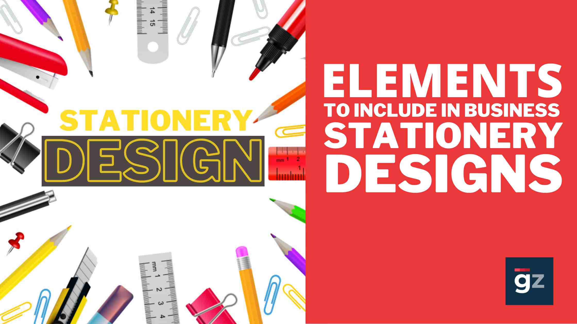 7 Elements To Include In Business Stationery Designs