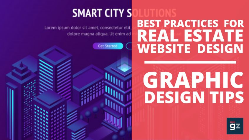 Best Practices For Real Estate Website Design | Graphic Design Tips