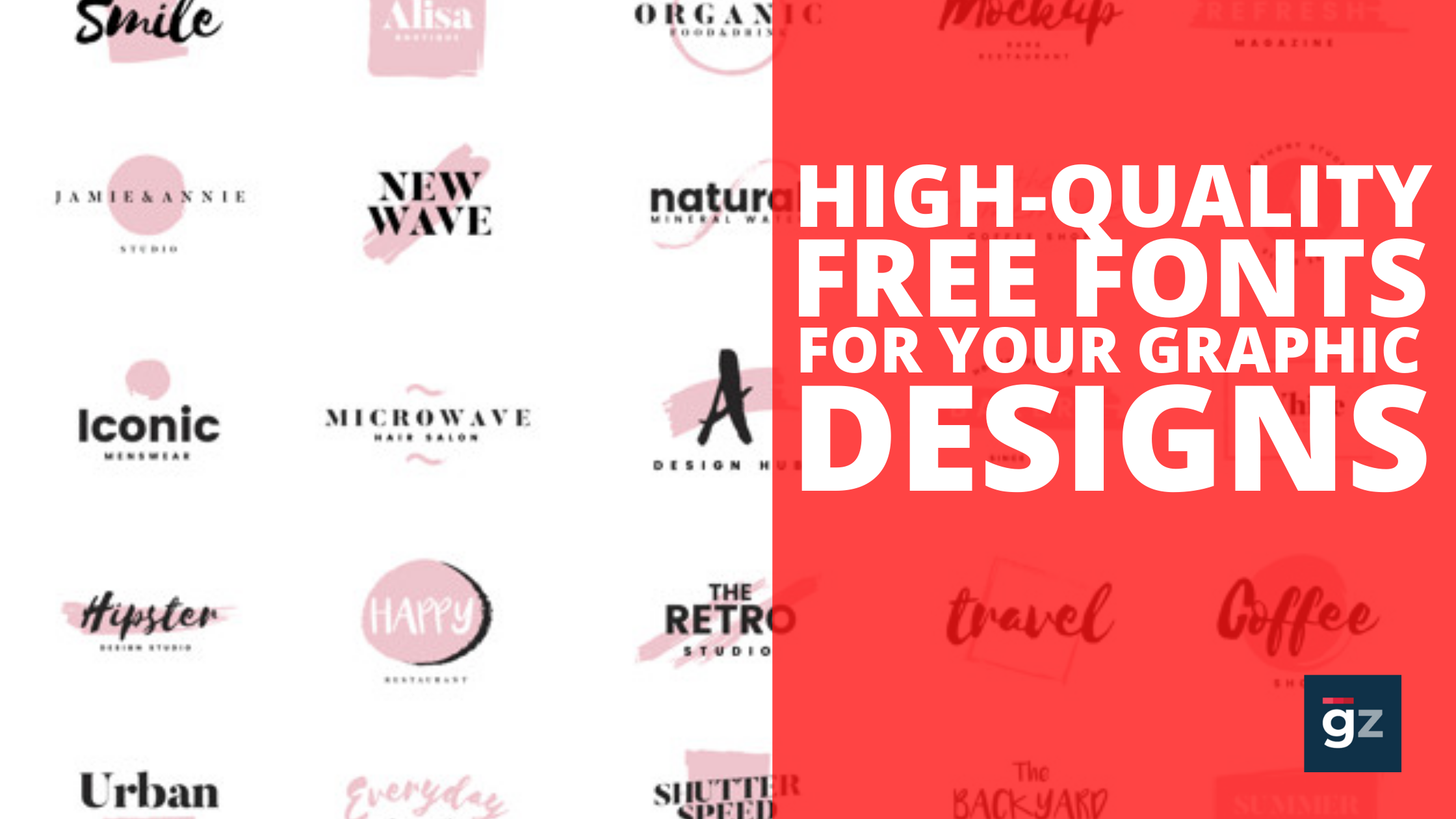 50 Fresh High-Quality Free Fonts For Your Graphic Designs