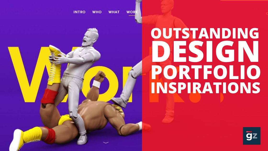 20 Outstanding Design Portfolios to Take Inspiration From