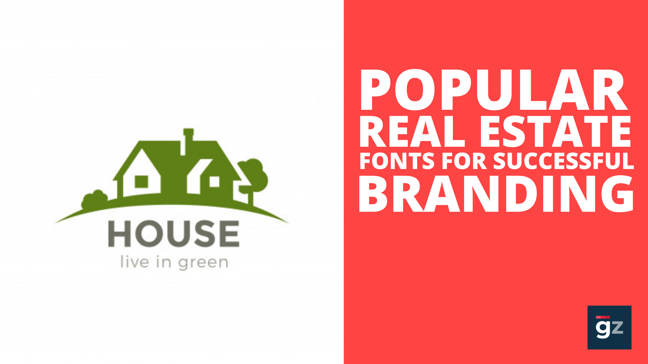 Most Popular Real Estate Fonts for Successful Branding of Your Busin...