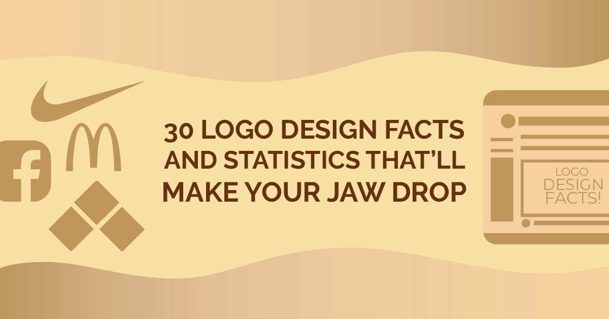 30 Logo Design Facts and Statistics That'll Make Your Jaw Drop