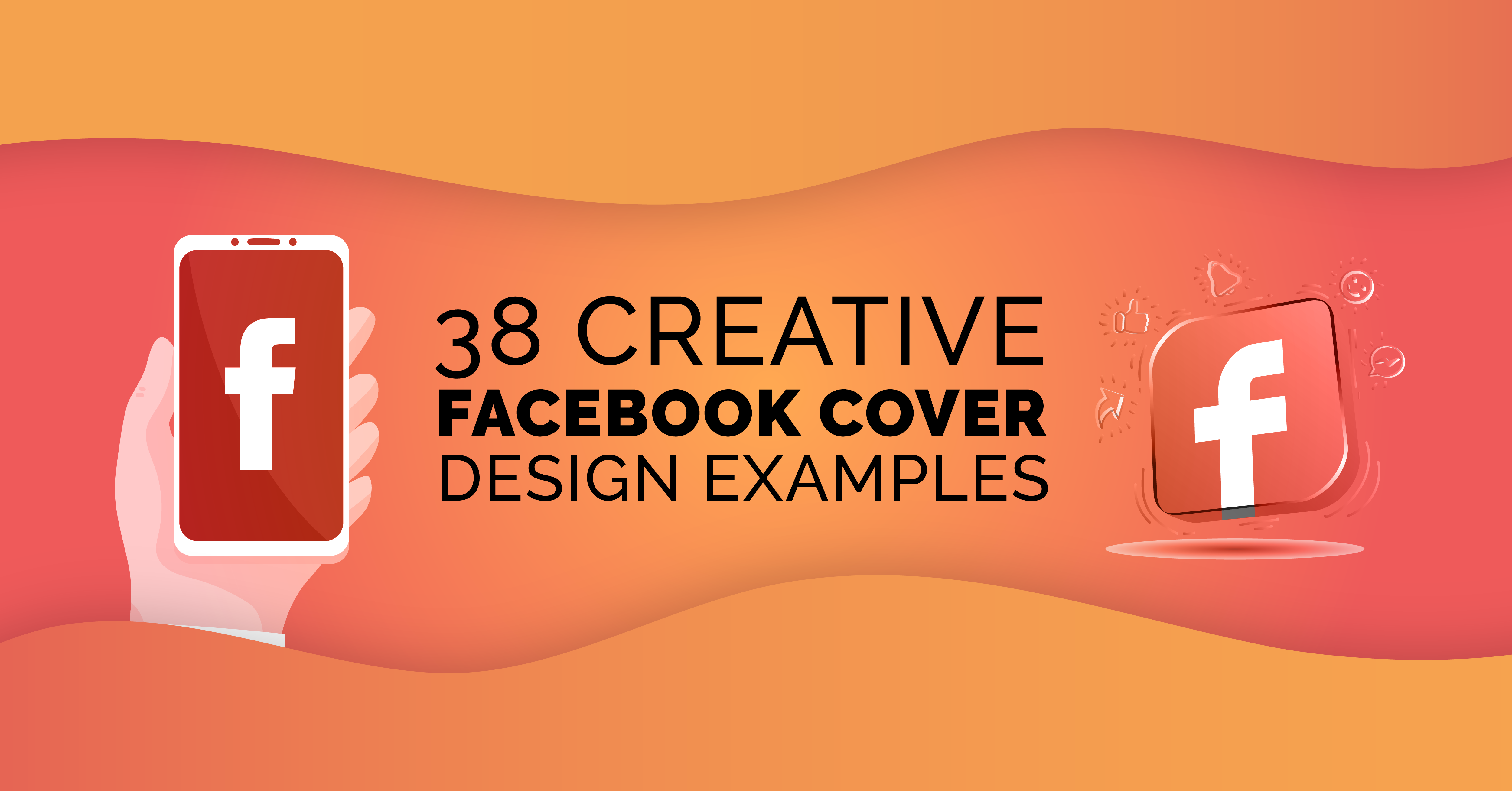 38 Creative Facebook Cover Design Examples To Follow in 2021